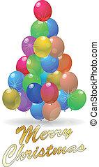 balloons tree