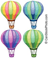 Balloons - Illustration of a set of balloons