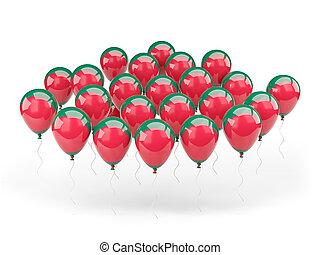 Balloons with flag of bangladesh