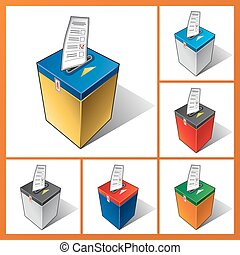 Ballot box, elections