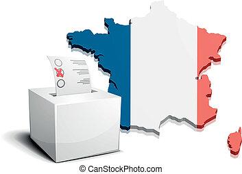 ballot box France