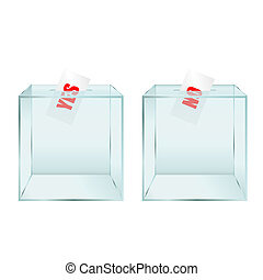 ballot box illustration