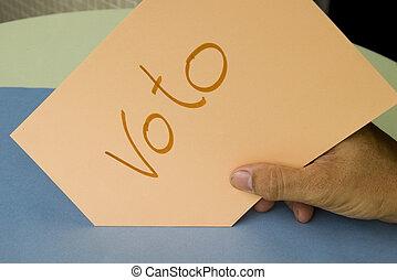 ballot box - Vote