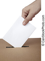 ballot voting vote box politics choice election - close up ...