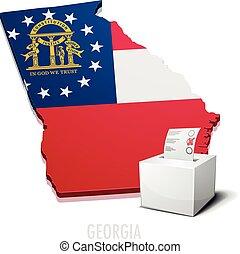 ballotbox Map Georgia