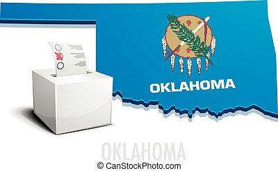 Ballotbox Map Oklahoma