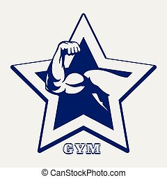 Ballpoint pen gym poster - Ballpoint pen color gym poster...