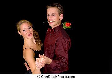 Ballroom dancers