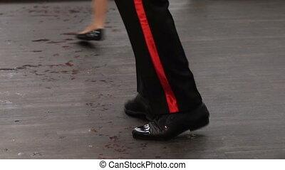 Ballroom dancing - Performances of ballroom dancing on floor