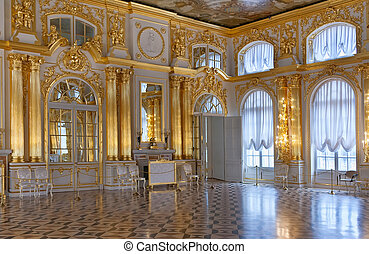 Ballroom's Central Palace - Katherine's Palace hall in...
