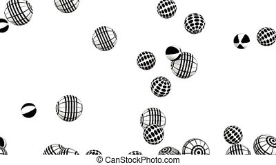 Balls background video