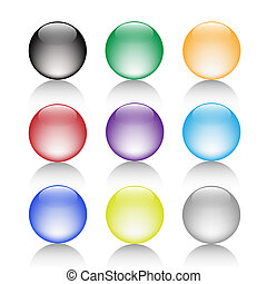 Balls-Bulb-Color-Button-Gel-Clean-Glass-Shaddow