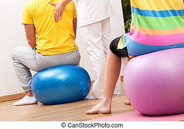 Balls exercises