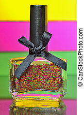 balls nail polish bottle