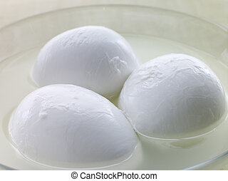 Balls of Buffalo Mozzarella