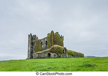 Ballycarbery Castle, County Kerry, Ireland
