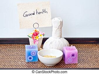 balneario, buena salud, masaje