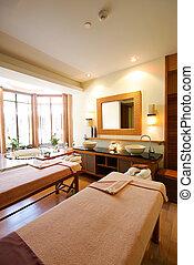 balneario, habitación, tailandia