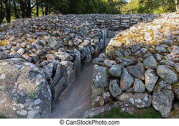 Balnuaran of Clava prehistoric cemetery