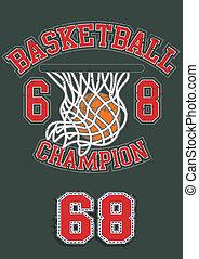 baloncesto, campeón