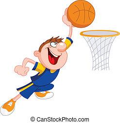 baloncesto, niño
