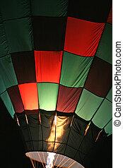 baloon, chaud, 3, air