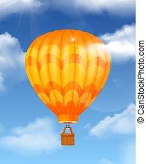 baloon, samenstelling, realistisch