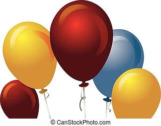 baloons background