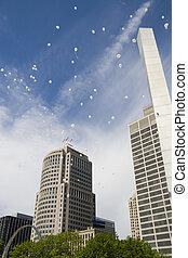 baloons, in de stad, iii