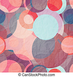 baloons - seamless pattern with colorful paper circles