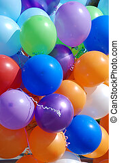 baloons - big bunch of baloons of different colours