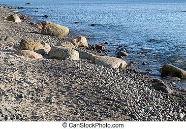 Baltic sea beach in Germany