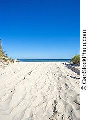 Baltic sea, beach
