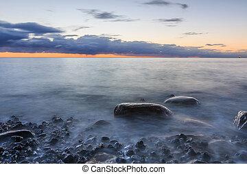 Baltic Sea in the morning