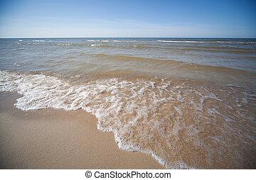 Baltic sea panorama