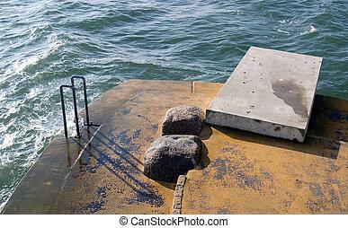 Baltic sea springboard