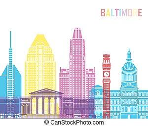 Baltimore_V2 skyline pop