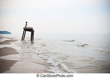 baltisch, strand
