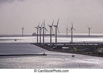 baltisch, turbines, wind, zee
