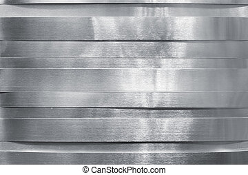 baluginante, metallo, striscie