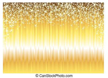 baluginante, oro, fondo