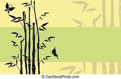 bambù, background09