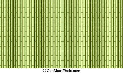 bambù, fondo, disegno, verde, legnhe