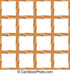 bambù, seamless, fondo