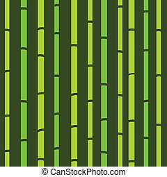 bambù, seamless, verde, naturale, retro, modello, o, struttura