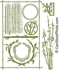 bambú, colección