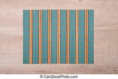 bambú, mantel individual