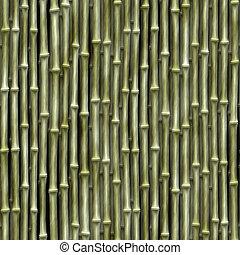 bambú, seamless, textura