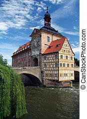 Bamberg  in Germany - City hall in Bamberg