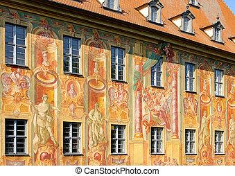 Bamberg townhall detail